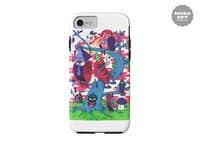 Tree and Birds - double-duty-phone-case - small view