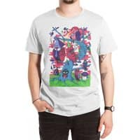 Tree and Birds - mens-extra-soft-tee - small view