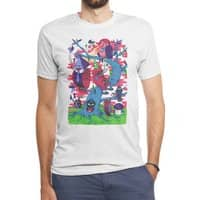 Tree and Birds - mens-triblend-tee - small view