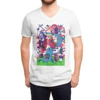 Tree and Birds - vneck - small view