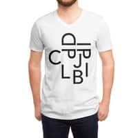 Type Face - vneck - small view