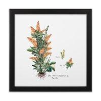 Vegetabilis Pizzarius - black-square-framed-print - small view