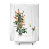 Vegetabilis Pizzarius - shower-curtain - small view