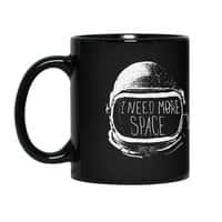 Never Date an Astronaut - black-mug - small view
