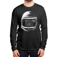 Never Date an Astronaut - mens-long-sleeve-tee - small view