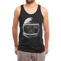 Never Date an Astronaut - mens-triblend-tank - small view