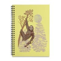 Sloth Wars - spiral-notebook - small view