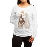 Sloth Wars - womens-long-sleeve-terry-scoop - small view