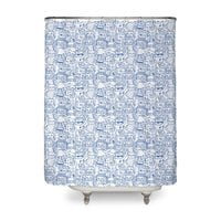 The Party - shower-curtain - small view