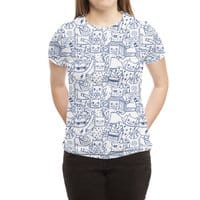 The Party - womens-sublimated-triblend-tee - small view