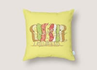 Group Hug - throw-pillow - small view