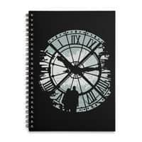 Time Fades - spiral-notebook - small view