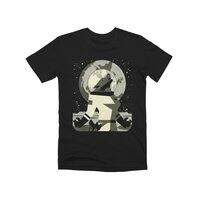Werewolf in the Moon - mens-premium-tee - small view