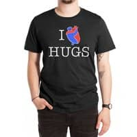 I Love Hugs - mens-extra-soft-tee - small view