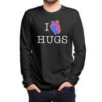 I Love Hugs - mens-long-sleeve-tee - small view