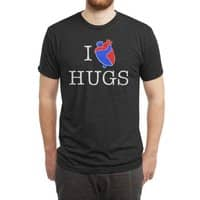 I Love Hugs - mens-triblend-tee - small view