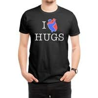 I Love Hugs - mens-regular-tee - small view