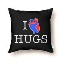 I Love Hugs - throw-pillow - small view