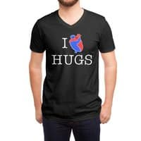 I Love Hugs - vneck - small view