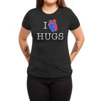I Love Hugs - womens-triblend-tee - small view