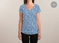 Paper Zoo - womens-sublimated-v-neck - small view