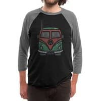 Slave Two - triblend-34-sleeve-raglan-tee - small view