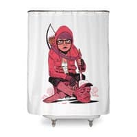 ZOMBIE SURVIVALIST - shower-curtain - small view
