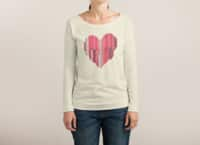 51 Love Stories - womens-long-sleeve-terry-scoop - small view