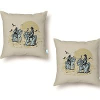 Ma Lil' Outlaws - throw-pillow - small view