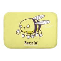 Buzzin' - bath-mat - small view