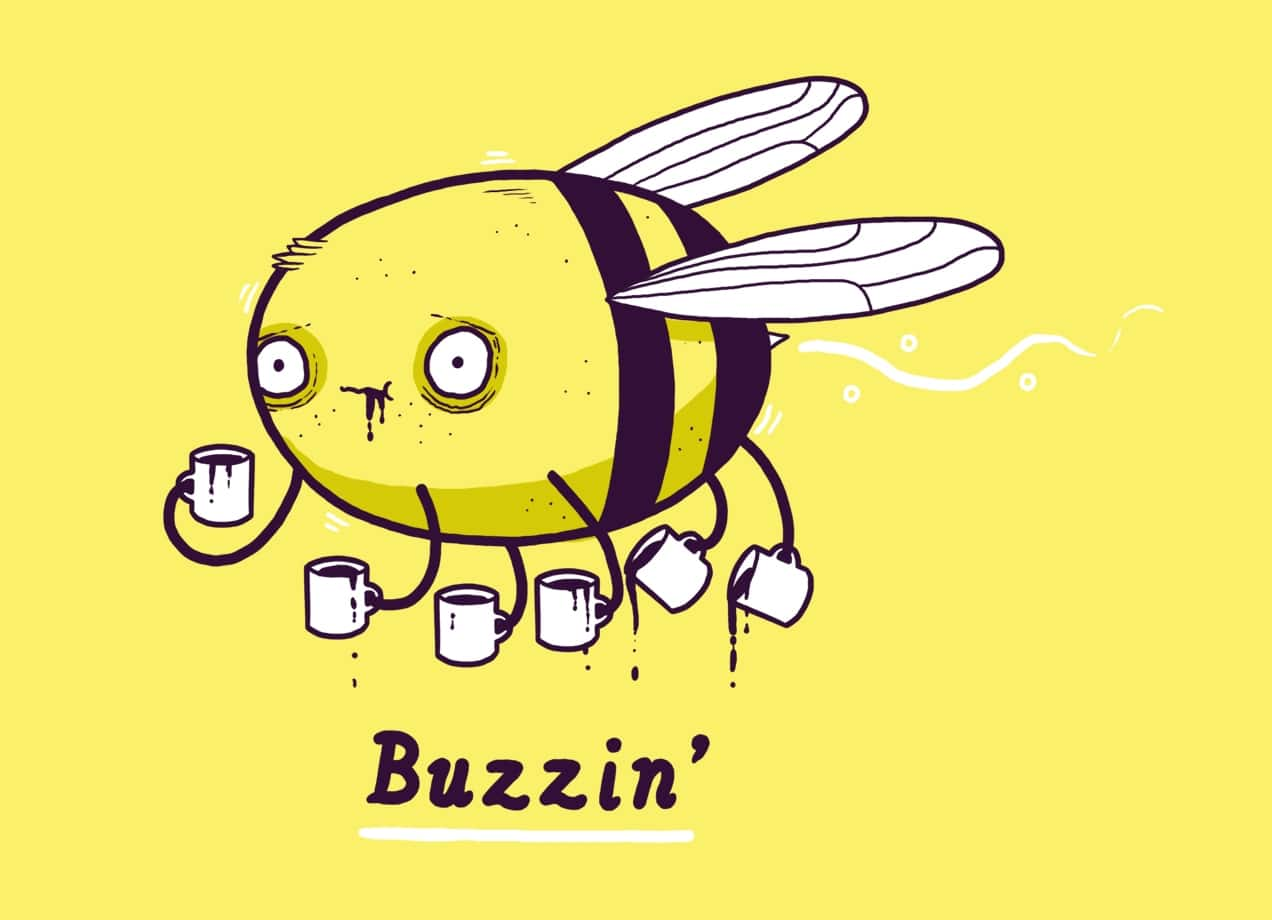 Buzzin By Aaron Jay Threadless