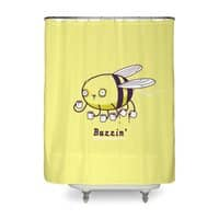 Buzzin' - shower-curtain - small view