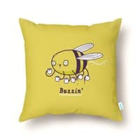 Buzzin' - throw-pillow - small view
