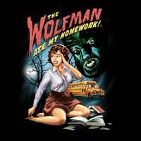 The Wolfman Ate My Homework! - small view
