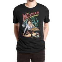 The Wolfman Ate My Homework! - mens-extra-soft-tee - small view