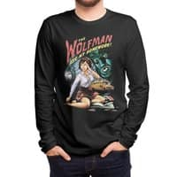 The Wolfman Ate My Homework! - mens-long-sleeve-tee - small view