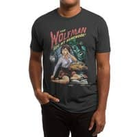 The Wolfman Ate My Homework! - mens-triblend-tee - small view