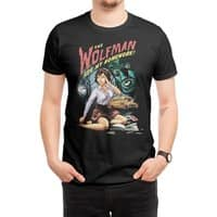 The Wolfman Ate My Homework! - mens-regular-tee - small view
