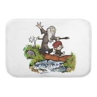 Halfling and Wizard - bath-mat - small view