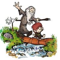 Halfling and Wizard - small view