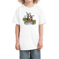 Halfling and Wizard - kids-tee - small view