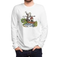 Halfling and Wizard - mens-long-sleeve-tee - small view