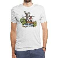 Halfling and Wizard - mens-triblend-tee - small view
