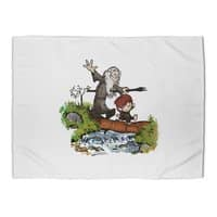 Halfling and Wizard - rug-landscape - small view
