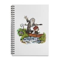 Halfling and Wizard - spiral-notebook - small view