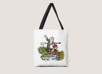 Halfling and Wizard - tote-bag - small view
