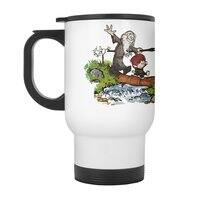 Halfling and Wizard - travel-mug-with-handle - small view