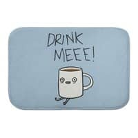 Drink Me Coffee - bath-mat - small view