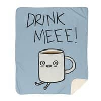 Drink Me Coffee - blanket - small view