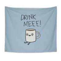 Drink Me Coffee - indoor-wall-tapestry - small view